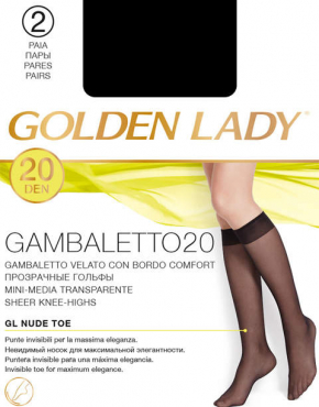 Гольфы Golden Lady Gambaletto 20 2 пары