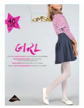 Колготки OMSA kids Collant GIRL 40